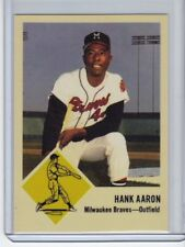 Hank Aaron '63 Milwaukee Braves rare Superior #500 extension series