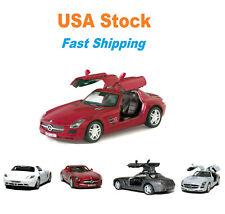 Mercedes-Benz SLS AMG Hardtop, Kinsmart, Diecast Model Toy Car, 5'', 1:36