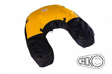 40 L YELLOW CODURA MOTORCYCLE DRY BAG SOFT LUGGAGE ENDURO OFF ROAD ADVENTURE