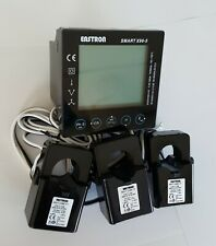 Electric Smart Meter TCP/IP & modbus kWh energy & power analyser 3 CTs included