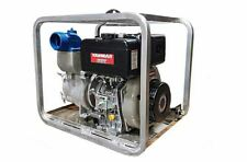 4 Yanmar Heavy Duty Diesel Trash Pump