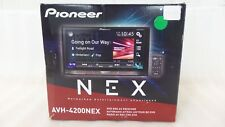 Pioneer AVH-4200NEX 2 DIN DVD/CD Player Bluetooth HD Radio Apple CarPlay (60088)