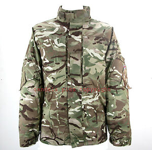 Genuine British Army Multicam MTP Camo PCS Shirt Jacket, New