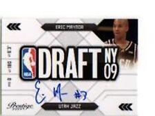 ERIC MAYNOR 2009-10 PRESTIGE NBA DRAFT CLASS AUTO ROOKIE