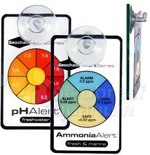 Alert Combo Ammonia pH Continuous Color Changing Aquarium Water Monitor Seachem