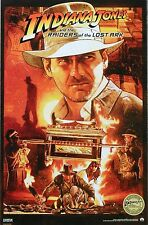 INDIANA JONES AND THE RAIDERS OF THE LOST ARK IMAX MOVIE POSTER 2012 NEW