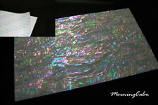 Prism Abalone Wide Adhesive Veneer Sheet (MOP Shell Overlay Nacre Luthier)