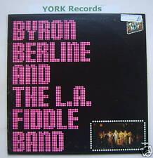 BYRON BERLINE & THE LA FIDDLE BAND - Ex Con LP Record