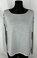 Zara Knit Long Sleeve Women's Casual Polyester Knit Top Blouse Pullover Size:M