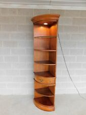 """Thomasville Fisher Park Lighted Wall Corner Cabinet """"B"""""""