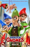 Sherlock Gnomes Original 27 X 40 Theatrical Movie Poster