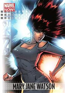 MARY JANE WATSON / 2013 Marvel Now! (Upper Deck 2014) BASE Trading Card #61