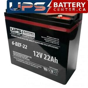 OUTDO 6-DZM-22 12V 22Ah M5 Replacement Battery