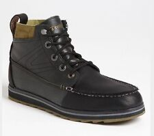 Tretorn Holdyn Mens 7.5 Leather Black Capers Boot  NWOB MSRP $175