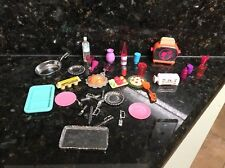 BARBIE KEN DOLL HOUSE KITCHEN DINING FOOD DISHES - METAL TOASTER Tray Others