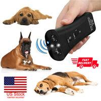 New Pet Dog Repeller Anti Barking Stop Bark Training Device Trainer Ultrasonic
