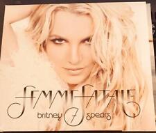 BRITNEY SPEARS: Femme Fatale; LN CD