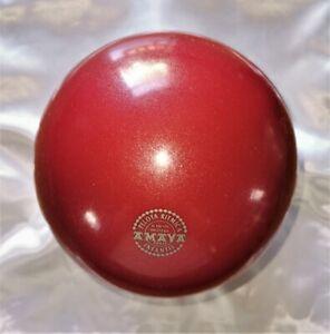 RSG Ball JUNIOR BALL Gymnastikball CHERRY metallic 150-170mm 300g NEU!