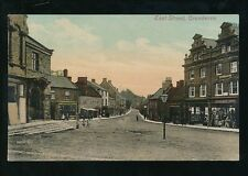Somerset CREWKERNE East St Town Hall c1900s? PPC by Valentine