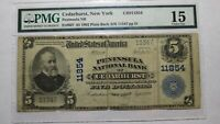 $5 1902 Cedarhurst New York NY National Currency Bank Note Bill Ch. #11854 PMG