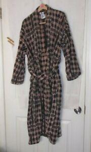 puritan Robe/ Men's Pajamas one size fits most 100% cotton
