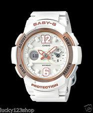 BGA-210-7B3 White Casio Baby-g Lady Watches Resin G-Lide Women Band New