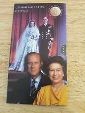 More details for 1997 golden wedding crown commemorative bu uncirculated