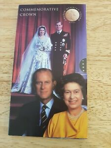 1997 Golden Wedding Crown Commemorative BU Uncirculated