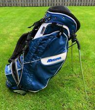 Mizuno Twister Kabuki Aerolite Lightweight Golf Stand Bag - Blue/White