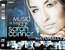 SARAH CONNOR FEAT. NATURALLY 7 : MUSIC IS THE KEY / CD - TOP-ZUSTAND
