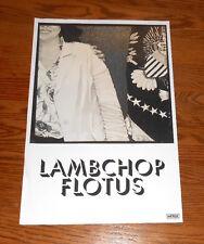 Lambchop Flotus Poster Promo Original 12x18