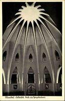 Clausthal Zellerfeld alte Postkarte ~1950/60 Inneres der Aula der Bergakademie