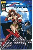 ZORRO #3 / Wizard Ace Edition #5, NM-, Lady RawHide 1996, more Topps in store