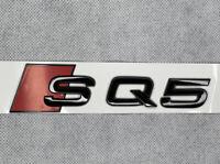 Audi SQ5 Rear Boot Trunk Badge Emblem Logo Gloss Black