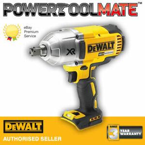 DEWALT DCF899N XR Brushless High Torque Impact Wrench 18 Volt Bare - Uk Stock