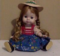"""Vintage Madame Alexander Doll. """"Gretl"""". 12"""". Head Needs Restringing."""