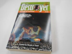 The Destroyer #133: Troubled Waters by Warren Murphy (2000,USA) Gold Eagle