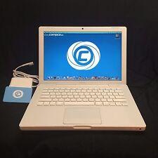 """Apple MacBook 13.3"""" Laptop White Intel Core 2 Duo, 2GB, 250GB HD 90 Day Warranty"""