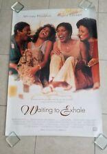Waiting To Exhale movie poster  - original 1 Sheet poster - Whitney Houston