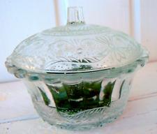 Glasdose Dose  m. Deckel Glas Bonbonniere  Vintage Stil Shabby