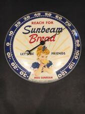 VINTAGE SUNBEAM BREAD THERMOMETER PAM 1957