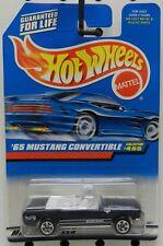 1965 65 CONVERTIBLE DARK BLUE PONY CAR 455 CONV MUSTANG FORD HW HOT WHEELS