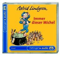 ASTRID LINDGREN - IMMER DIESER MICHEL  CD KINDERHÖRSPIEL  NEU