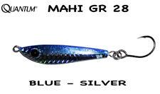 QUANTUM MAHI 28 GR - COL BLUE SILVER METALLIC JIG PER SHORE SPIN