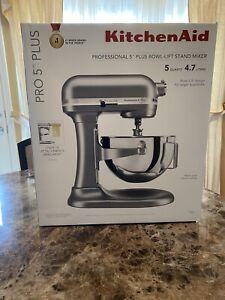 KitchenAid Pro 5 Plus 5 Quart Bowl-Lift Stand Mixer - Silver