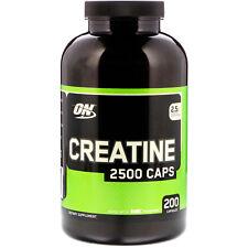 Optimum Nutrition  Creatine 2500 Caps  2 5 g  200 Capsules