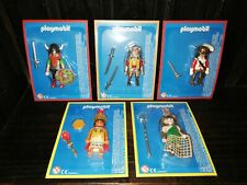 VTG PLAYMOBIL BIG LOT OF 5 DIFFERENT WARRIORS ARGENTINA COLLECTION NEW MOC