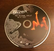 Beachbody Insanity Max Interval Circuit & Fit Test Replacement Disc