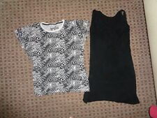 ATMOSPHERELADIES VEST TOP T-SHIRT SIZE 8-10 summer HOLIDAY CASUAL EVERYDAY WORK