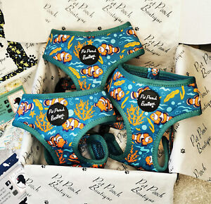 Under The Sea Clownfish Puppy/Dog Harness - Puppy or Dog NEW